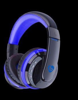 MX666 Bluetooth 4.0 Stereo Headphone (Blue)