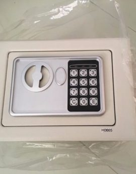 Basic Digital Safe Box *Size 22.5*16.5*16cm (Solid Steel Material)