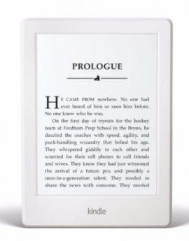 Amazon Kindle Paperwhite E-Reader 6″ High Resolution Display 300 PPI (White)
