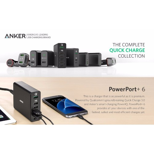 ankle usb charger 6 ports