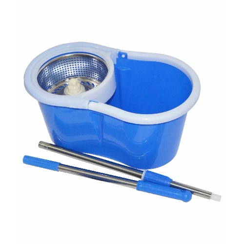 spin mop blue