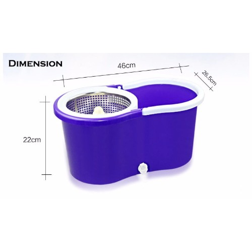 spin mop purple