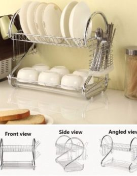 Stainless Steel Dish Rack (24*39*41mm)
