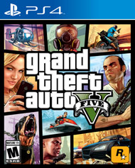 PS4 Game GTA V (Grand Theft Auto V)