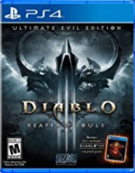PS4 Game Diablo 3: Reaper of Souls Ultimate Evil Edition