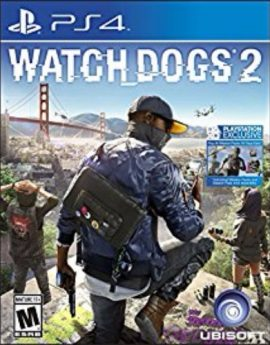 PS4 Game Watch Dogs 2