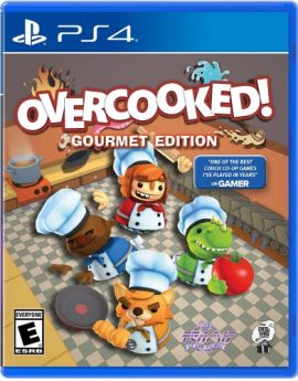 PS4 Game Overcooked