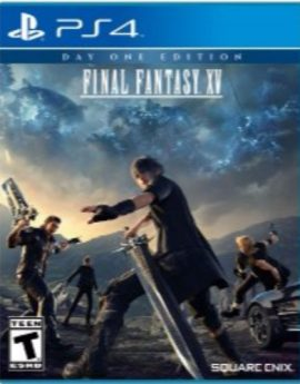 PS4 Game Final Fantasy XV