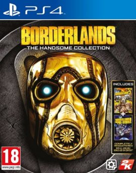 PS4 Game Borderlands: The Handsome Collection