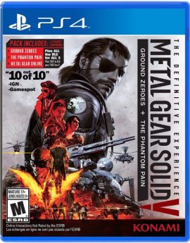 PS4 Game Metal Gear Solid V: The Definitive Experience (Ground Zeroes + The Phantom Pain)