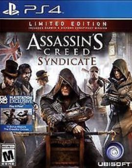 PS4 Game Assassin's Creed: Syndicate Limited Edition
