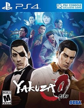PS4 Game Yakuza 0