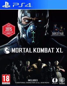 PS4 Game Mortal Kombat XL