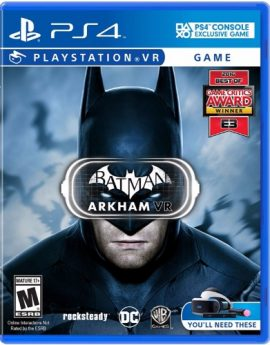 PlayStation VR Game Batman: Arkham VR