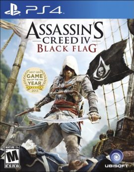 PS4 Game Assassin's Creed IV Black Flag