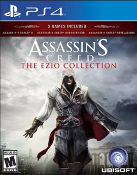 PS4 Game Assassin's Creed The Ezio Collection
