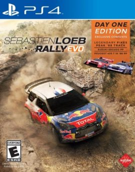 PS4 Game Sebastien Loeb Rally Evo
