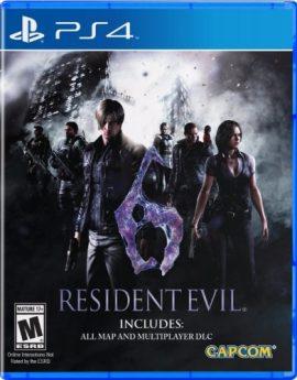 PS4 Game Resident Evil 6