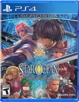 PS4 Game Star Ocean: Integrity and Faithlessness
