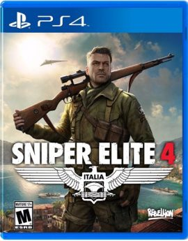 PS4 Game Sniper Elite 4