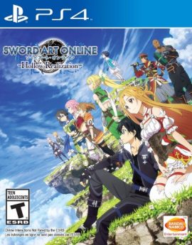 PS4 Game Sword Art Online: Hollow Realization