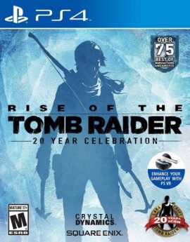 PS4 Game Rise of the Tomb Raider: 20 Year Celebration