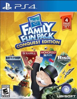PS4 Game Hasbro Family Fun Pack Conquest Edition