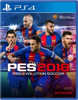 PS4 Game Pro Evolution Soccer 2018