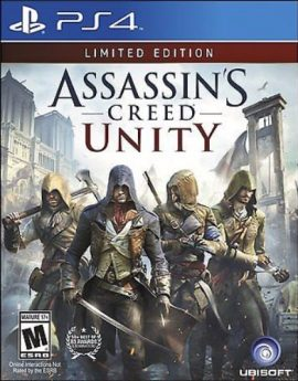 PS4 Game Assassin's Creed Unity Limited Edition