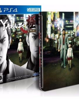 PS4 Game Yakuza Kiwami Steelbook Edition