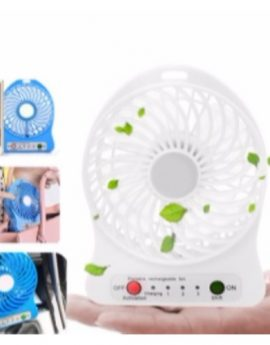Portable USB RECHARGEABLE FAN