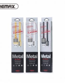 REMAX Metal Fast Charge Cable For iOS Micro USB & Type C
