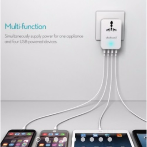 usb multi travel charger4