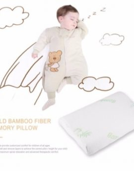 Bamboo Fiber Contour Memory Foam Pillow For Children