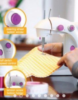 Multi-Function Portable Desktop Sewing Machine