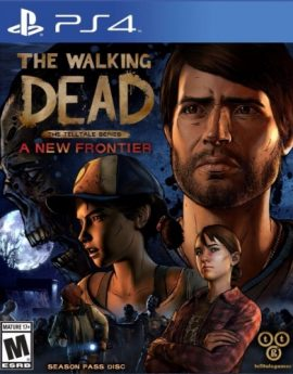 PS4 Game The Walking Dead: The Telltale Series A New Frontier