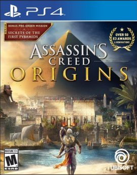 PS4 Game Assassin's Creed Origins Standard Edition