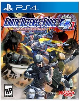 PS4 Game Earth Defense Force 4.1: The Shadow of New Despair
