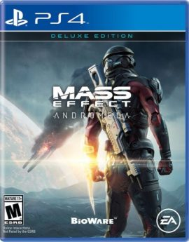 PS4 Game Mass Effect Andromeda Deluxe Edition
