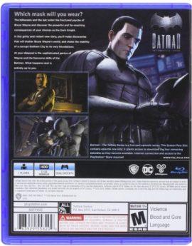 PS4 Game Batman: The Telltale Series