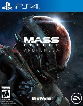 PS4 Game Mass Effect Andromeda Standard Edition