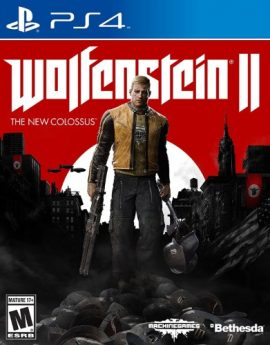PS4 Game Wolfenstein II: The New Colossus