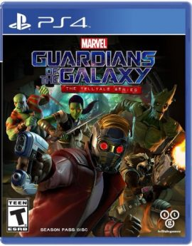PS4 Game Marvel's Guardians of the Galaxy: The Telltale Series
