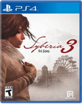 PS4 Game Syberia 3