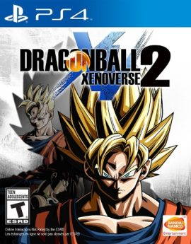 PS4 Game Dragon Ball Xenoverse 2