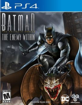 PS4 Game Batman: The Enemy Within The Telltale Series