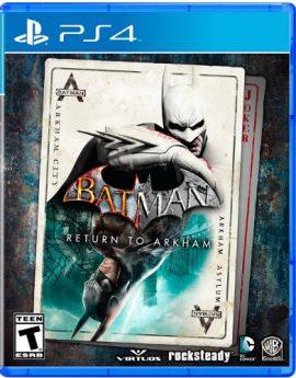PS4 Game Batman: Return to Arkham