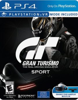 PS4 Game Gran Turismo Sport Limited Edition