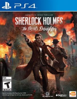 PS4 Game Sherlock Holmes: The Devil's Daughter