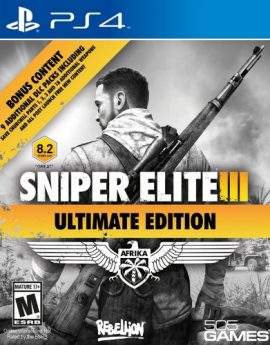PS4 Game Sniper Elite III Ultimate Edition